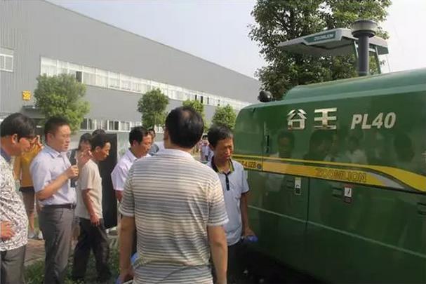 中联重科:安徽职业农民推进主粮生产全程机械化