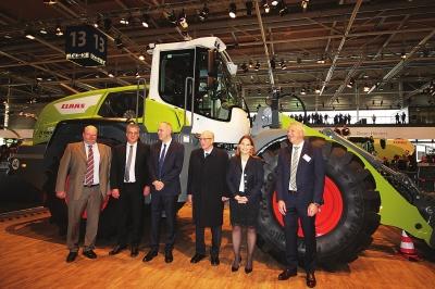 克拉斯新品惊艳汉诺威国际农机展